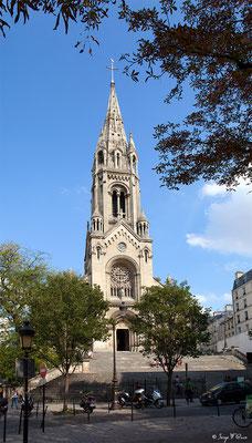 Eglise Notre Dame de la Croix à Ménilmontant - Paris - France - 2011