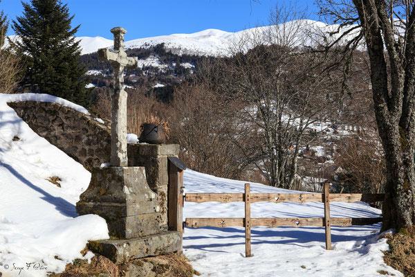 Entrée de la Fougère - le Mont Dore du chemin de Légal - Massif du Sancy - Auvergne - France