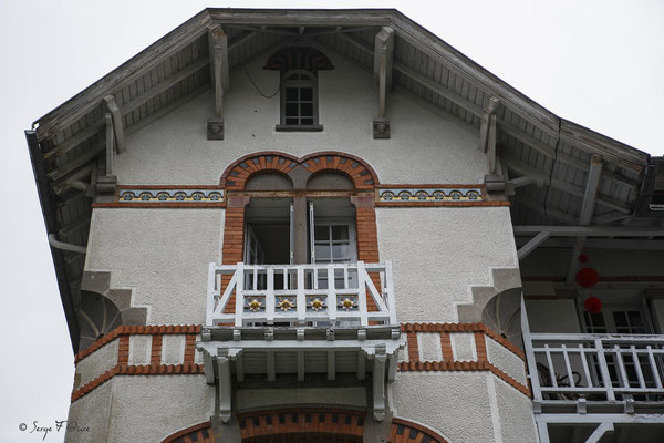 Villa typique de La Bourboule - Auvergne - France