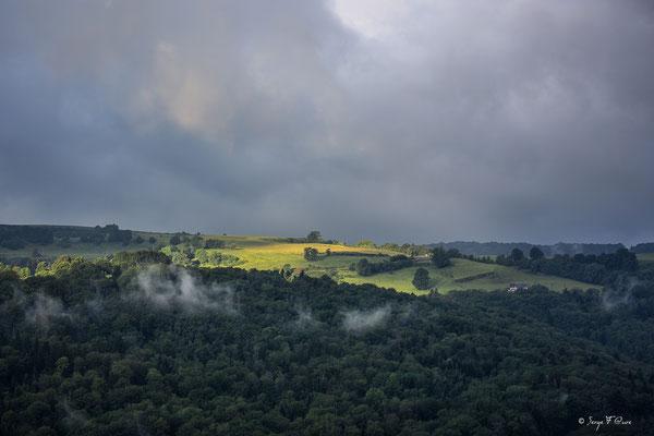 Le plateau de Charlannes, côté Liournat - Massif du Sancy - Auvergne - France