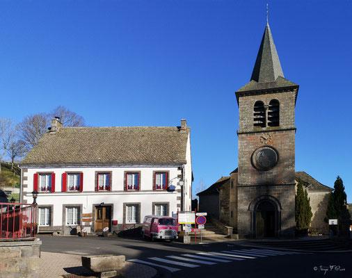 Bourg de Murat le Quaire - Massif du Sancy - Auvergne - France