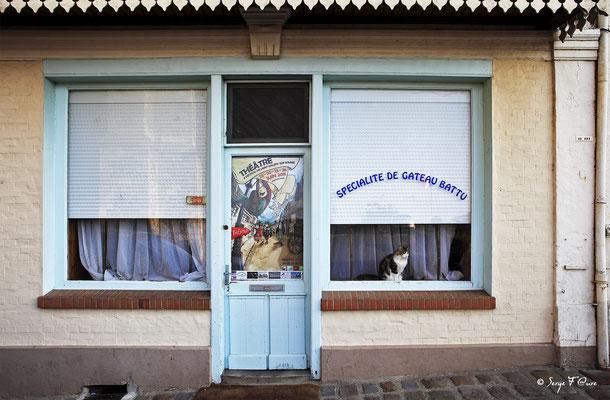 """""""Saint Valéry sur Somme - Picardie - France"""" Façades et vitrines par Serge Faure"""