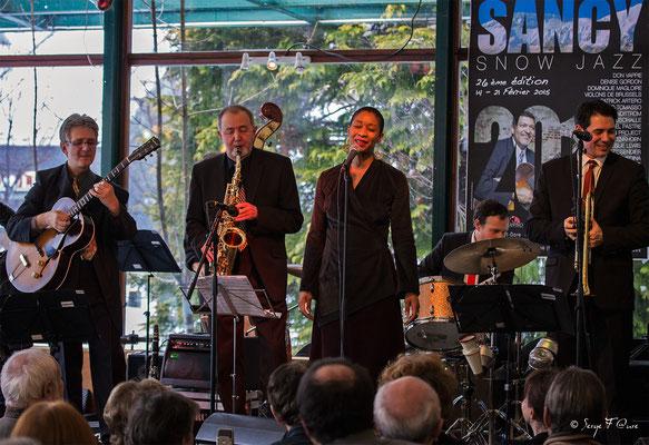 Claude Tissendier & Faby Medina - 26ème Festival de jazz 2015 (Sancy Snow Jazz) Le Mont Dore - Auvergne - France