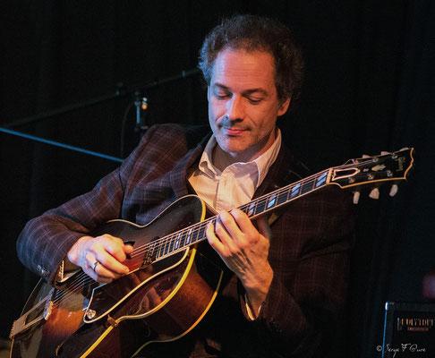 Nicolas Peslier (guitare) - 26ème Festival de jazz 2015 (Sancy Snow Jazz) Le Mont Dore - Auvergne - France