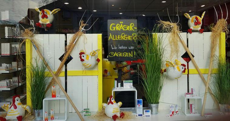 Allergiedekoration Apotheke