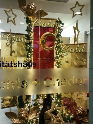 Weihnachtsdeko - Traum in gold
