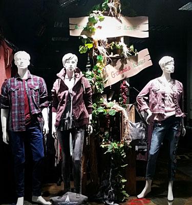 Herbstdekoration Textiler