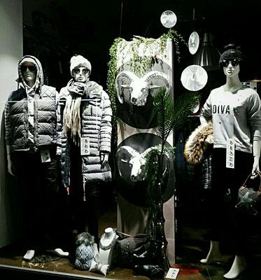 trendige Herbstdekoration Textiler