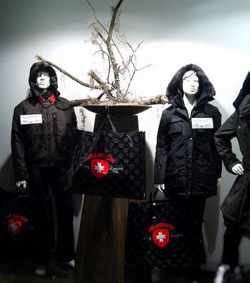 stylische Herbstdekoration Textiler, Rostdeko