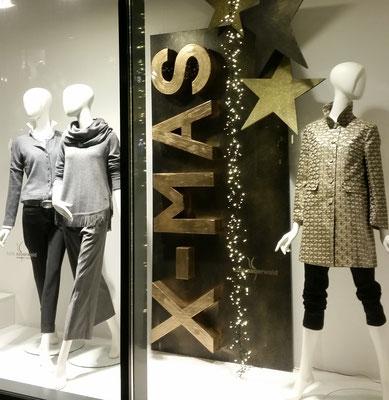 stylische Weihnachtsdekoration