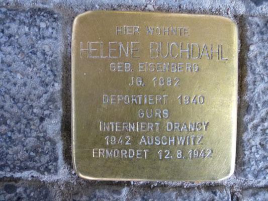 Kaiserstr. 164, Helene Buchdahl