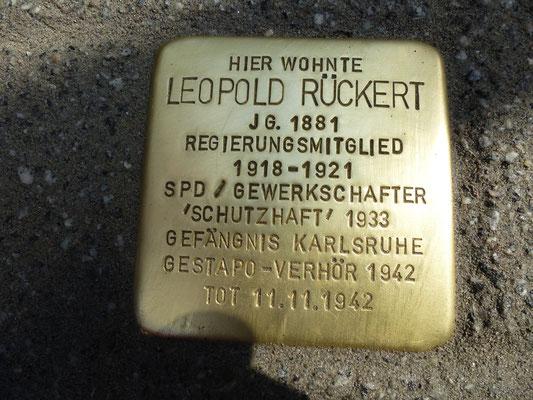 Ettlinger Straße 45, Leopold Rückert