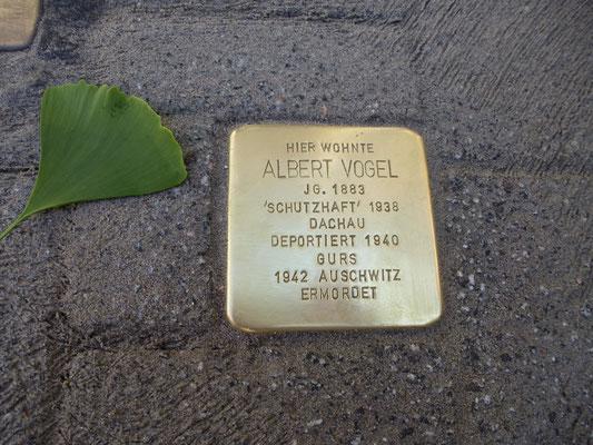 Zähringer Straße 78, Albert Vogel
