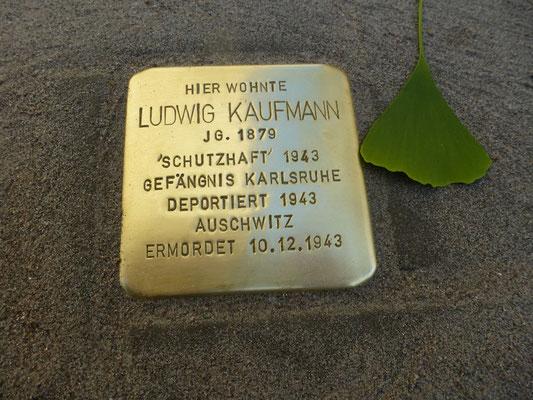 Eisenlohrstraße 24, Ludwig Kaufmann