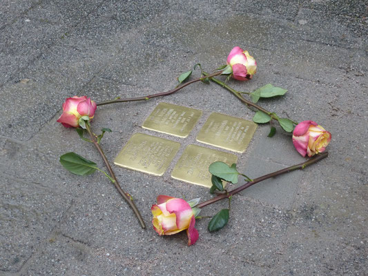 Markgrafenstr. 3, Israel, Liba, Jonas und Moses Zimmermann
