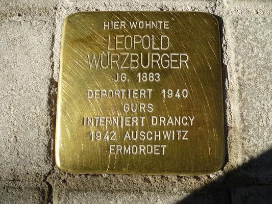 Karlstr. 24, Leo Würzberger