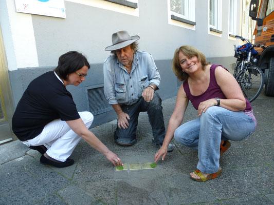 Stephanienstraße 9, Helene,  Julius  und Ilse Scharff