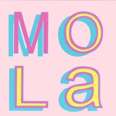 MOLA, Acrílico sobre tabla, 30 x 30 cm, Teruel 2018