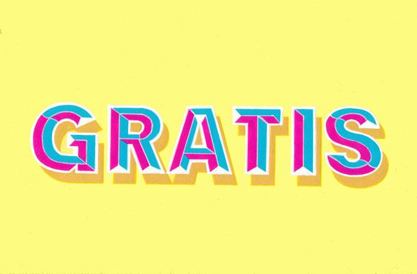 GRATIS, Acrílico sobre tabla, 20 x 30 cm, Teruel 2018