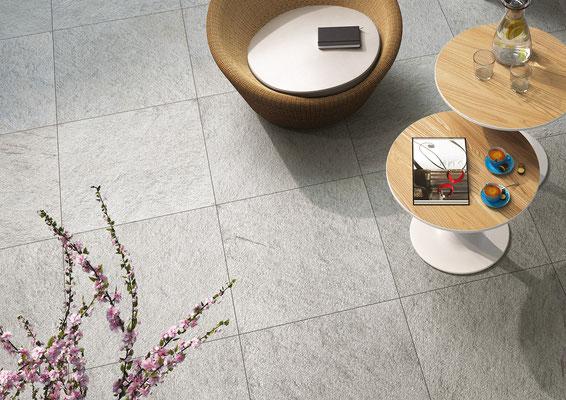 Keramikplatten für den Aussenbereich von  peterkeramik Kärselen aus der Region Thun