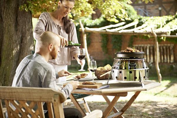 Outdoorküche - Feuertopf von Petromax