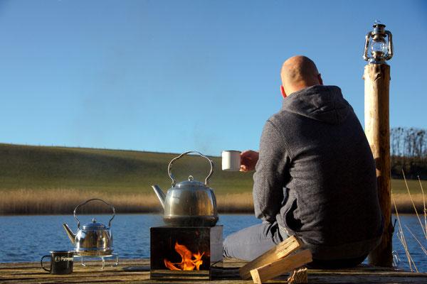geniessen Sie Ihren kaffee im Freien - Campinggeschirr von Petromax