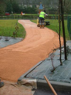 Allée sable stabilisé - TTA