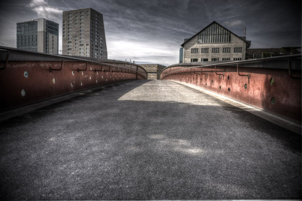 Pont sol béton