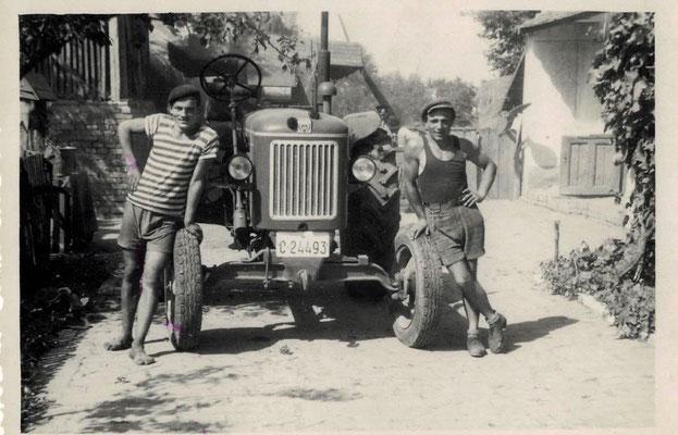 Heinrich mit Freund, Landwirtschaft