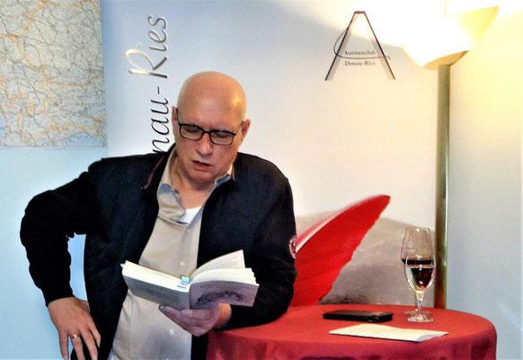 2020-01-13 Lesung Verdammt im Land der Partisanen, Am Lindle