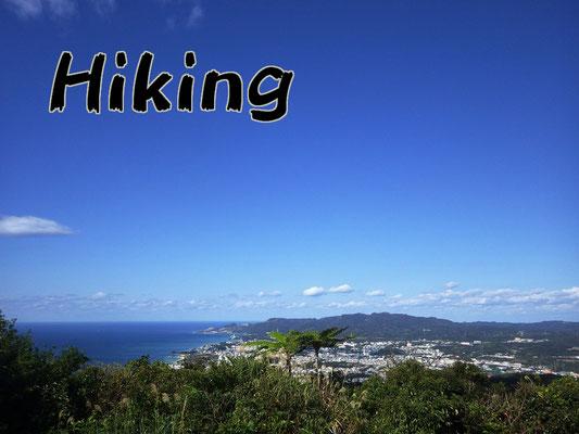 ハイキングツアー hiking