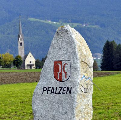 Ankunft in Pfalzen