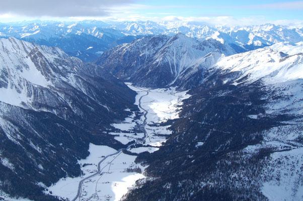 Pfitschertal bei Sterzing am, 4. Jänner 2009