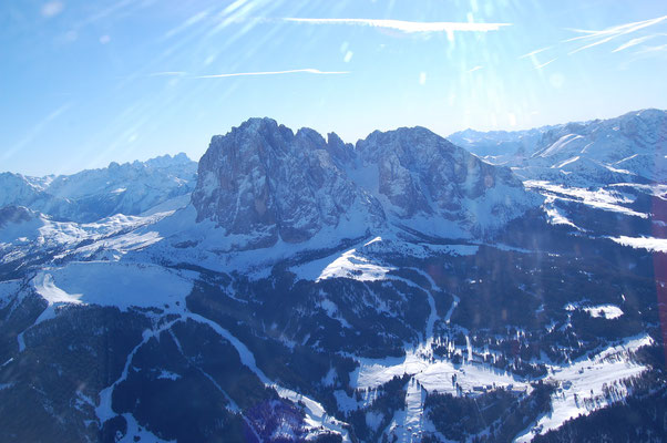 Langkofel Gröden Südtirol am, 4. Jänner 2009