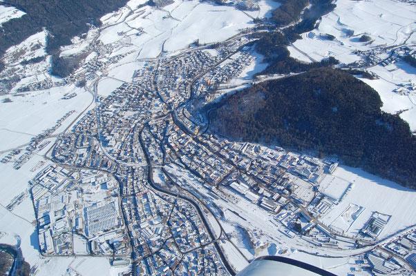 Bruneck im Pustertal am 4.Jänner 2009