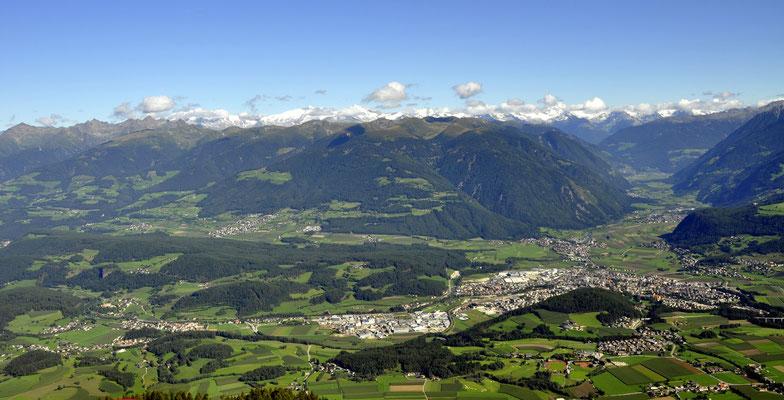 Bruneck Pfalzen Ahrntal