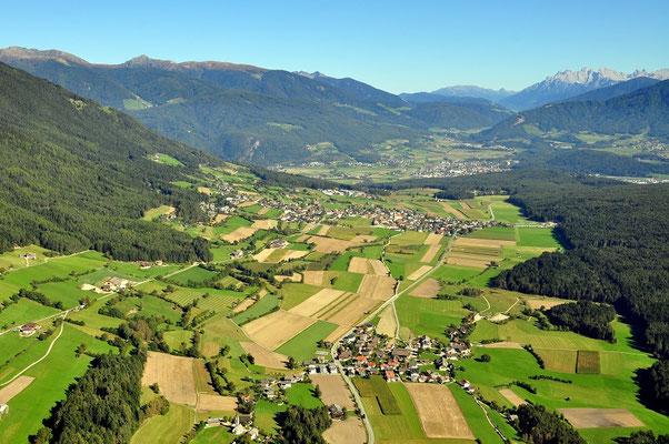 Issing, Pfalzen und Bruneck