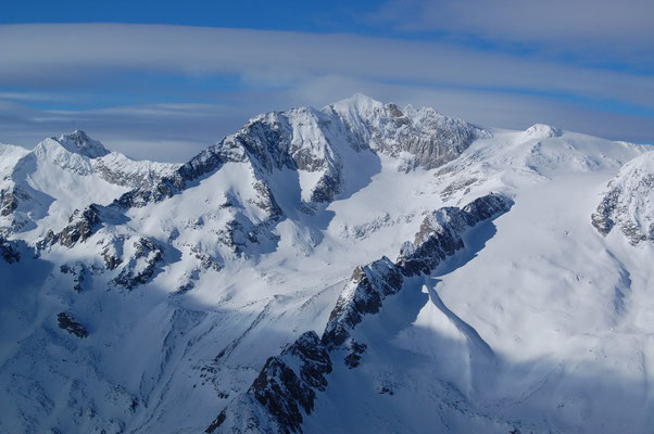 Schwarzenstein - Zillertaler Alpen - Ahrntal am, 4. Jänner 2009