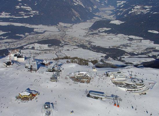 Skigebiet Kronplatz Bruneck im Pustertal
