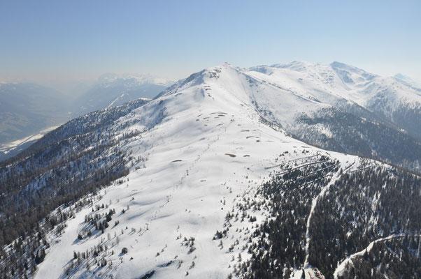 Skigebiet Helm Sexten im Pustertal am, 12.04.2009