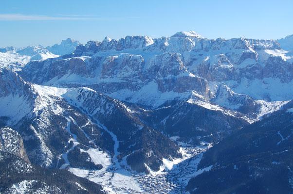 Wolkenstein Gröden Südtirol am, 4. Jänner 2009