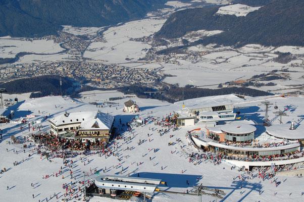 Skigebiet Kronplatz Bruneck im Pustertal  31.12.2008