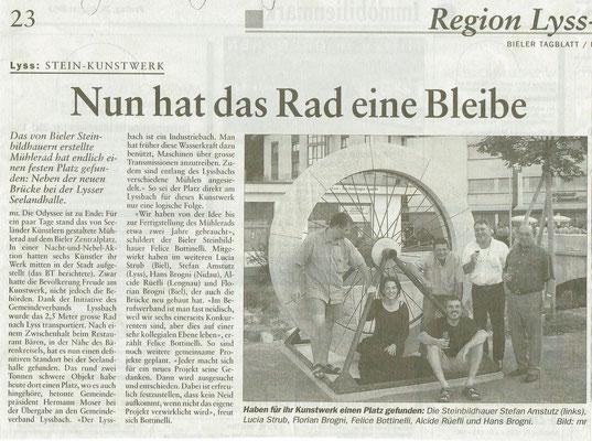 29.08.2003 Bieler Tagblatt