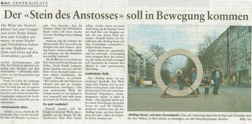 31.03.2003 Bieler Tagblatt