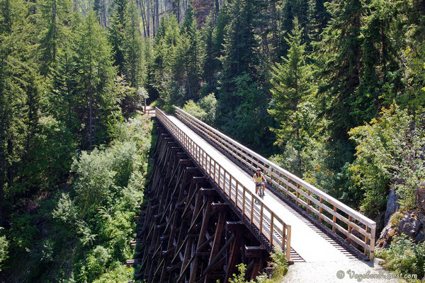 Kelowna Kettle Valley Rail Trail