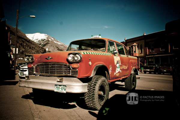 4-wheel-drive taxi in Silverton, CO