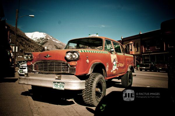 4-wheel-drive taxi in Silverton, CO