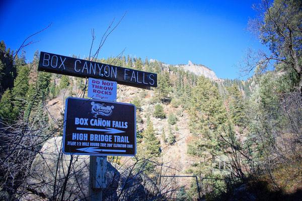 Box Canyon, Ouray, CO