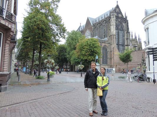 Mit Nicole in Utrecht
