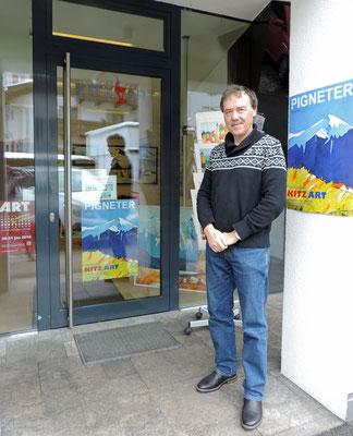 Galerie Kitz Art Eingang